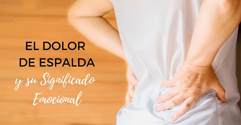 El dolor de espalda imagen mujer con dolor quiropráctico Barcelona